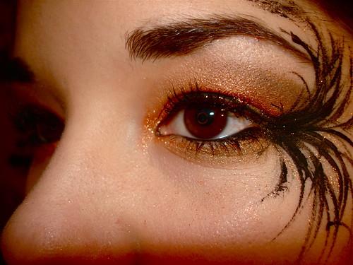 Eye Makeup Fallen