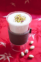 pistachio-rose-lassi (jeroxie) Tags: food recipes nikond5000 melbournefoodblog pistachiolassi addictiveconsuming