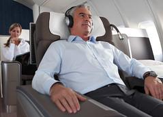 Lufthansa B747-400 first class upgrade (businesstraveller) Tags: first class lufthansa firstclass retrofit b747400