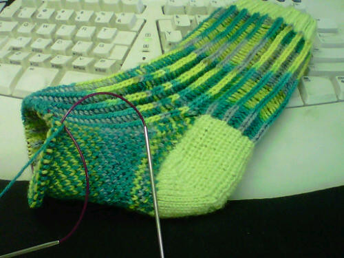 SM5 sock 2 in progress