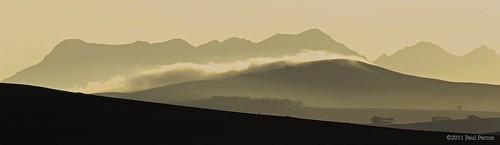 Sunlit mist by paulperton