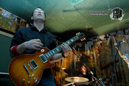 Myles Deck & The Fuzz - Gus' Pub - March 19th 2011 - 04