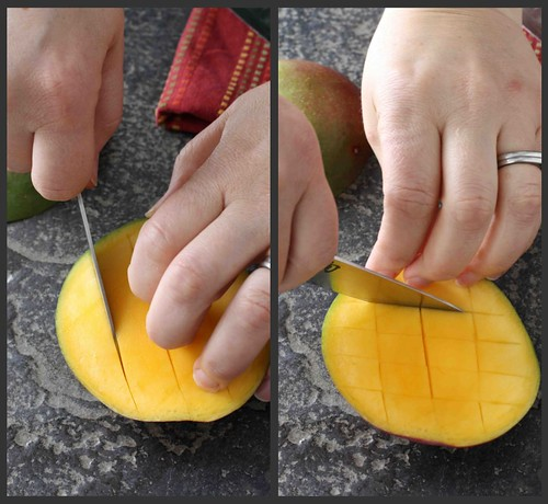 How to: Cut a Mango Collage 2