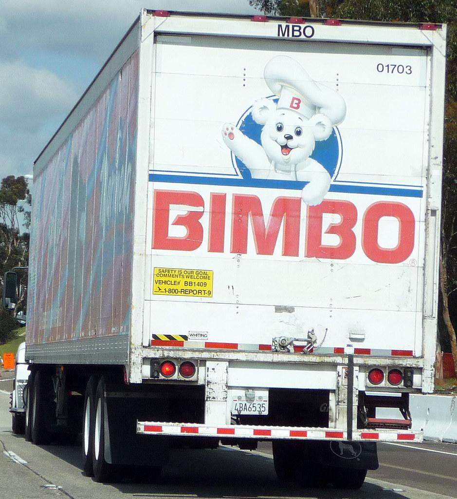 Bimbo Bakery Truck