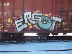 ergot (Reckless Artist) Tags: art minnesota graffiti paint cities twin spray tc graff mn pts tkg ergot colddayfun