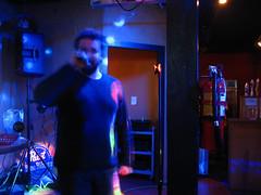 Tom on the mic
