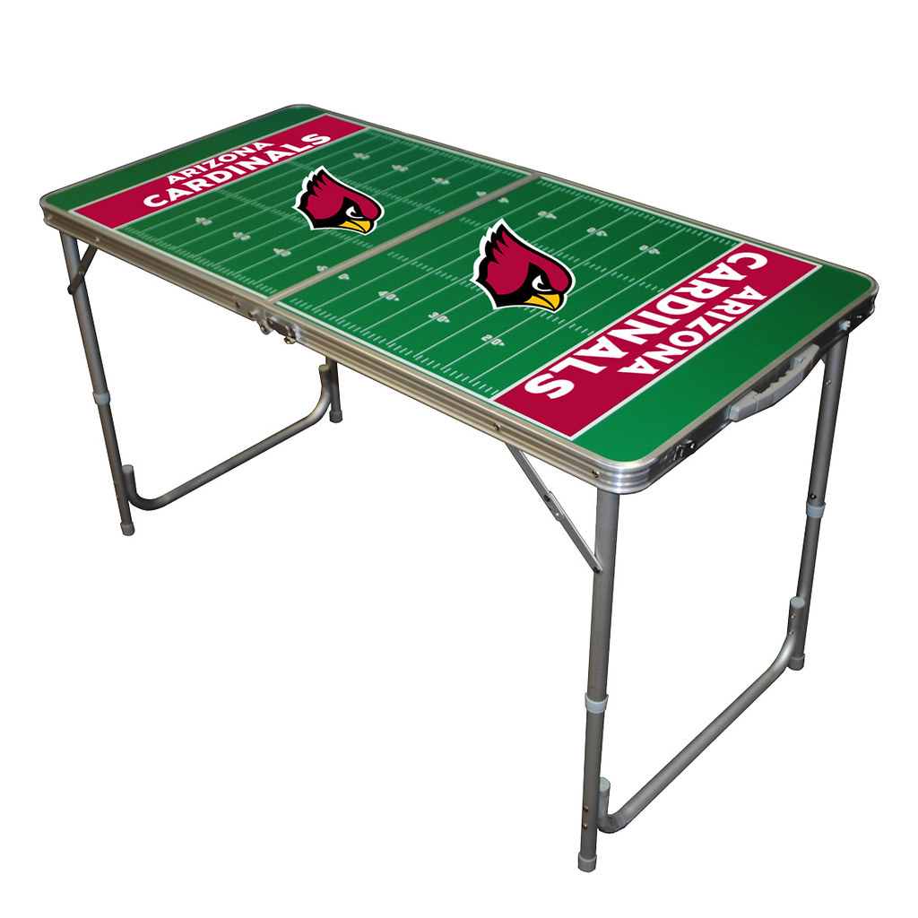 Arizona Cardinals TailGate Table Hot TailGating Item