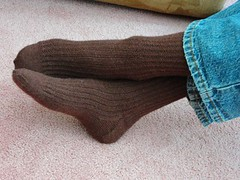 Jason's Farrow Rib socks