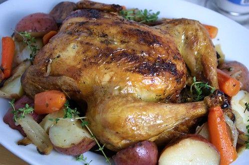 ... Parsley: Roasted Chicken with Red Bliss Potatoes, Carrots, and Onions