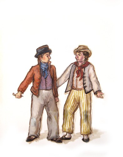 clothes of the common man- 1795