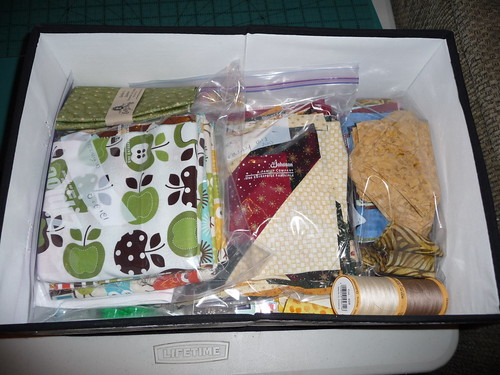 Packed for quilt retreat by wading moose