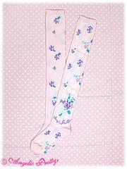 Sugar Pansy Socks pink (Secret_RoseGarden) Tags: pink socks pretty pansy sugar angelic otks
