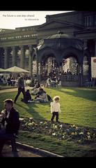 the future is one step ahead (Tafelzwerk) Tags: grass birds japan germany children deutschland nikon origami child stuttgart kind future pavilion gras pavillon zukunft friedrichsbau d7000 nikond7000 tafelzwerk tafelzwerkde