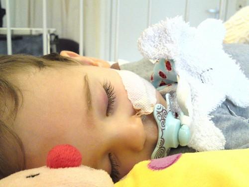 Bas in het ziekenhuis