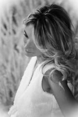 Girl in black and white (AnDa874) Tags: portrait blackandwhite woman cute girl beauty face female model pretty chica exhibition ritratto viso biancoenero bellezza ragazza fiera photoshow modella thegalaxy canonef70300mmf456isusm canoneos5dmarkii mygearandme mygearandmepremium dblringexcellence tplringexcellence
