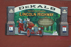 Illinois Lincoln Highway Mural - DeKalb