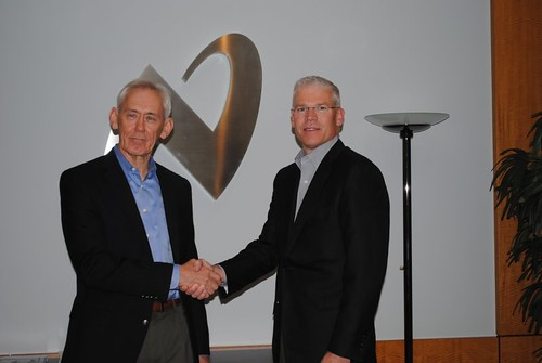 Donald Macleod (National Semiconductor) and Richard Templeton (Texas Instruments)