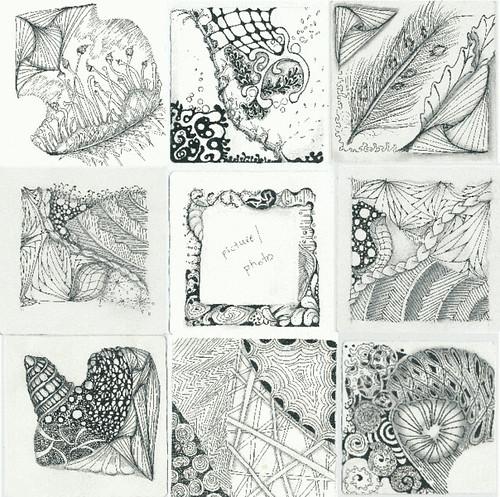 Zentangle® Mosaic 1