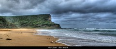 Natural Sea Wall - Garie Beach NSW (Hadi Zaher) Tags: park new sea beach birds wall wales coast waves natural south royal national wollongong garie touraroundtheworld