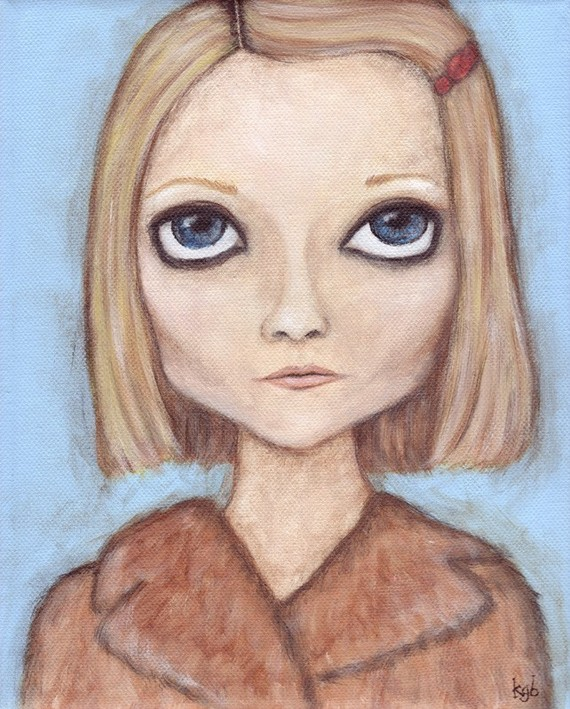 Margot print by acageybee
