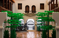 South Courtyard (Dave Shaddix) Tags: museum lego courtyard heard minifigscale