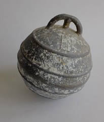 Buoy (neil cummings) Tags: fromthecollection thing aluminium objectoftheweek float lighthouse sea boats fishing buoy