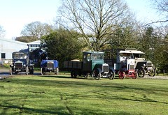 Vintage Truck Line-up (Terry Pinnegar Photography) Tags: beamish museum countydurham truck lorry vintage classic daimler ck22 dm3161 leyland fe1 rl5443 vulcan bf4040 karrier a6 ho2997 aec ytype lu8117