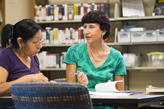 160909_Karen Burgan and student_002 (Pima County Public Library) Tags: elriolibrary pimacountylibrary instruction adulteducation ged continuingeducation adulttraining jobtraining library d5