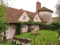 UK - Buckinghamshire - Near Fawley - Pink cottage (JulesFoto) Tags: uk england clog centrallondonoutdoorgroup buckinghamshire fawley cottage