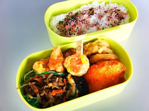 今日のお弁当 No.96 – 梅しそ