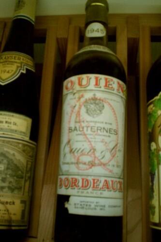 Quien 1945 Sauternes
