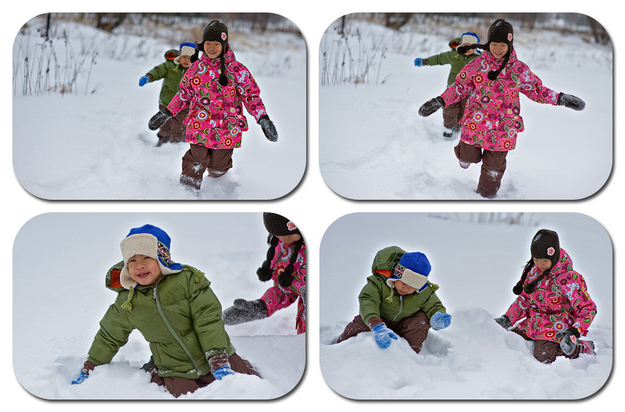 Storyboard snow play