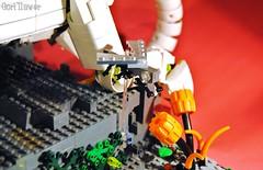 Tech natural.fly (GoRiLLaWeR) Tags: naturaleza animal technology lego mechanical natural chameleon diorama mech tecnologia moc camaleon gorillawer