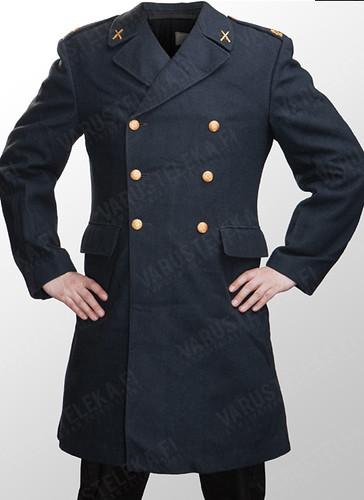 Varusteleka used Swedish army wool greatcoat