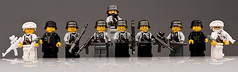 WW2 Axis (~Ghost Soldier~) Tags: world winter 2 two cool war lego ghost ss lot ww2 troops axis germans brickarms soldier2010