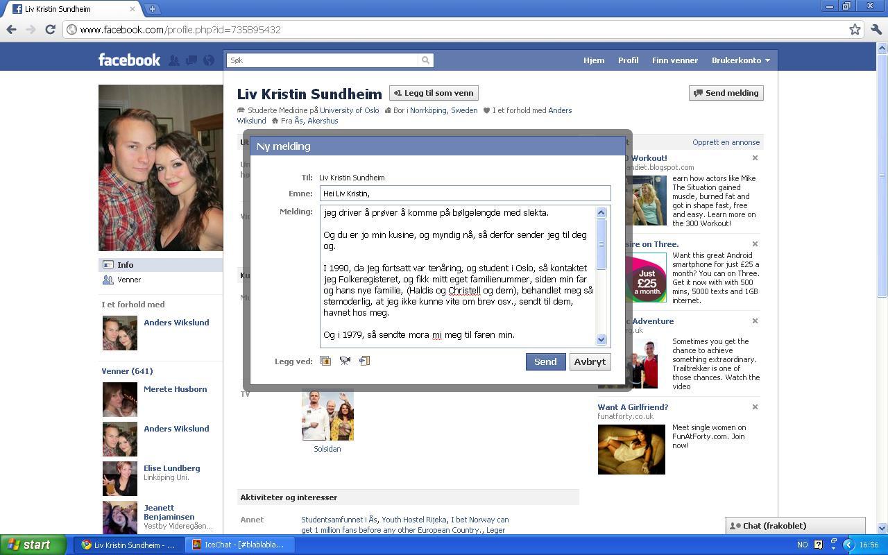 facebook liv kristin sundheim