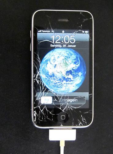 iPhone - Glasscheibe zerbrochen