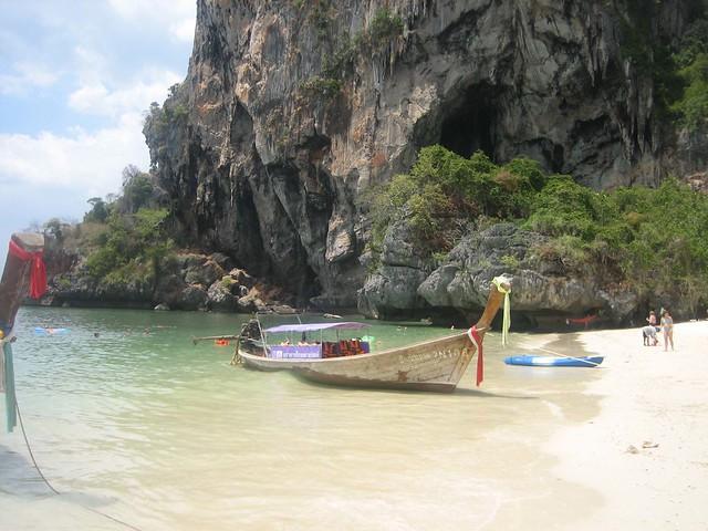 Beautiful beach in Klong Muang Krabi