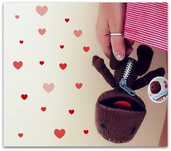 Photography Journal 29/365 (Teka e Fabi) Tags: project hearts toy photography brinquedo coraes 365 challenge desafio tekaefabi sackboy
