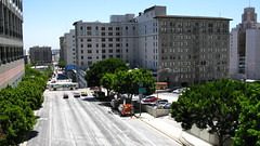 Los Angeles High Speed Way (Vancayzeele Olivier) Tags: california street city trip light urban usa sun colors america canon fun la soleil us photo losangeles day lumire unitedstatesofamerica streetlife jour powershot northamerica lax rue couleur ville californie urbain amrique tatsunis donwtown g9 vancayzeele