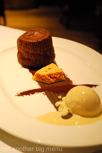 Almeida, Islington - Chocolate fondant