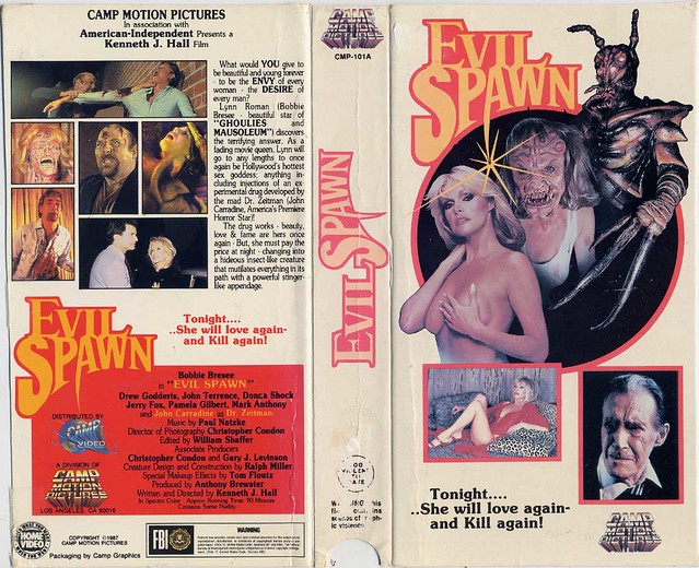 Evil Spawn (VHS Box Art)