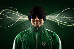 032/365 Come Original (matthewcoughlin) Tags: music green smile hat sunglasses headphones 311 clover beanie speedlight shamrock strobist soundsytem 430exii canon7d comeoriginal 3652011 2011inphotos