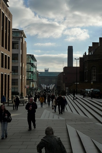The View to the Tate Modern from St. Paul's