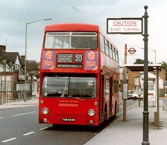 DMS 1695 1/7/79 (colinfpickett) Tags: bus london vintage routemaster lt rm dms