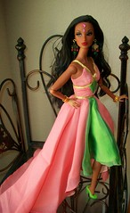 AKA  Centennial  Sorority 2008 (napudollworld) Tags: girl fashion aka fire james centennial dress dancing katia designer barbie spotlight bond dynamite royalty mattel tj 007 sorority countess rubies jimenez