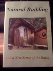 Image for Natural Building and a New Sense of the Earth