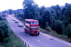 Highland Omnibuses L17 Muir of Ord (Guy Arab UF) Tags: bus buses bristol scotland highlands coach seated ecw rossshire l17 muiroford easterncoachworks scottishbusgroup centralsmt highlandomnibuses loddeka gm7024
