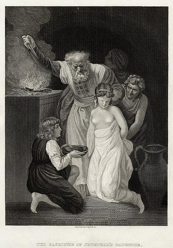 Sacrifice of Jephthah's Daughter_1834