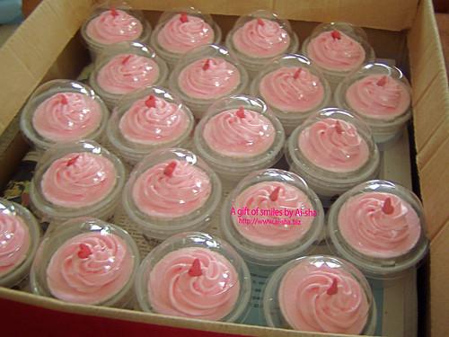 Doorgift Cupcakes